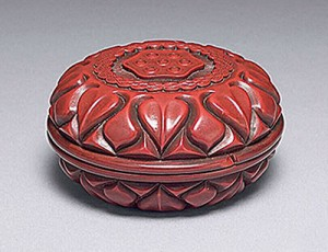 Fig. 1 Lacquer circular box National Palace Museum, Taipei, ..381