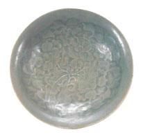 Fig. 1 Yaozhou stoneware shallow bowl, Fujian Museum