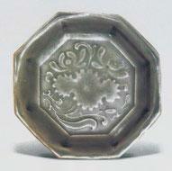 Fig. 1 Yaozhou stoneware saucer of octagonal form, Yaozhou Kiln Sites Museum