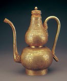 Fig. 1 Gold wine ewer, Palace Museum, Beijing