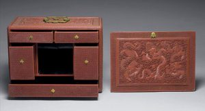 Fig. 1 Lacquer portable cabinet, National Palace Museum, Taipei