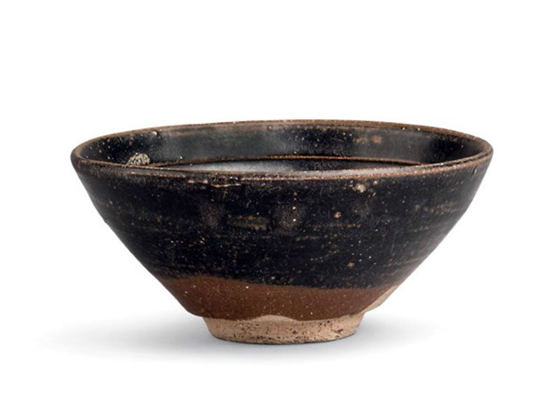 Stoneware tea bowl of jizhou type