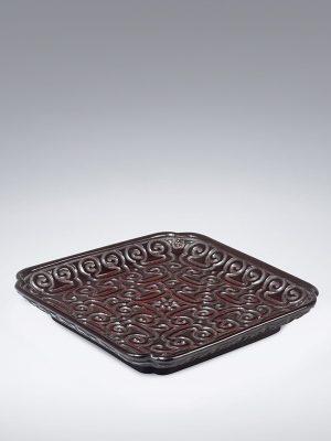 Tixi lacquer square dish