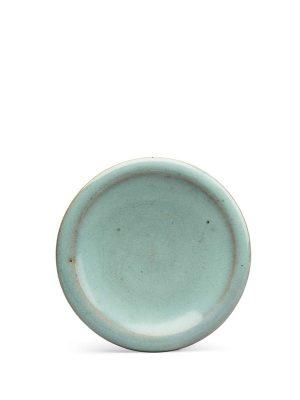 Jun stoneware saucer