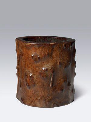 Huanghuali brushpot