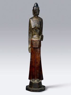 Bronze sculpture of Kannon Bosatsu, avalokitesvara