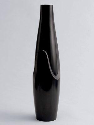 Bronze vase by Yoshitaka Kamitaka