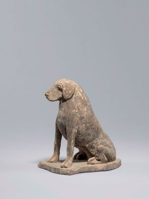 Pottery hound Northern Wei dynasty
