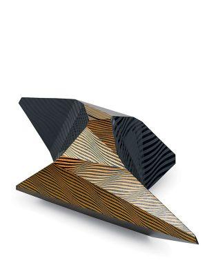 """Lacquer sculpture """"Kirara"""" by Shimode Yasuhiro"""