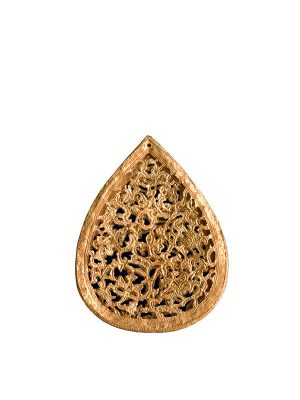 Gold scarf pendant or pomander