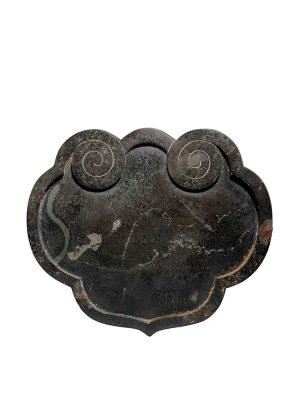 Stone box of ruyi head form