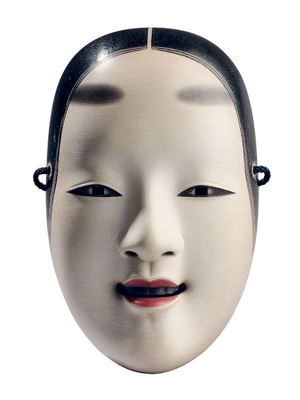 Noh mask by Nogawa Yozan II (1943 – present)