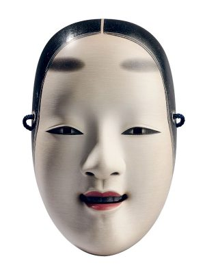 Noh mask by Nogawa Yozan II