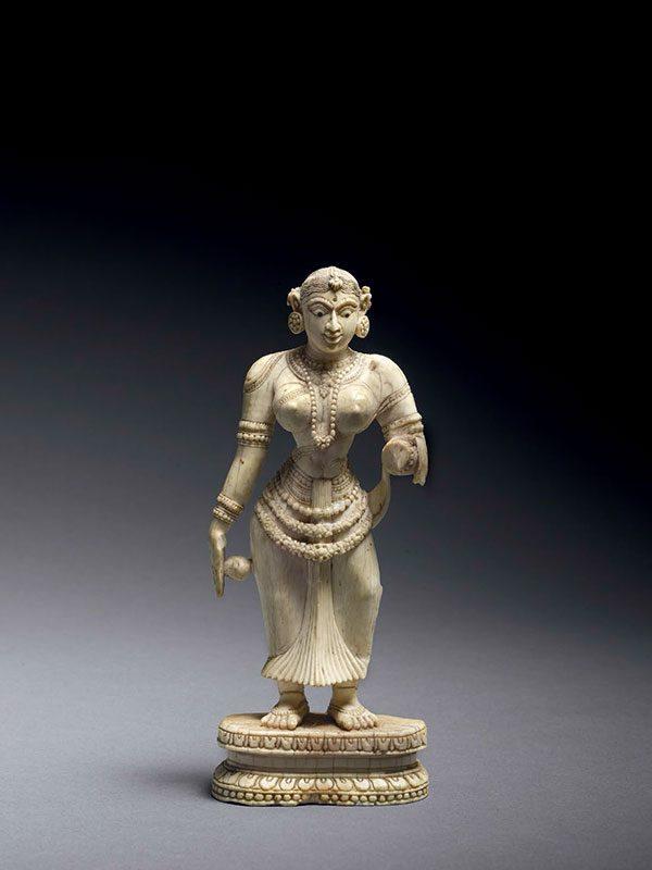 Ivory standing female