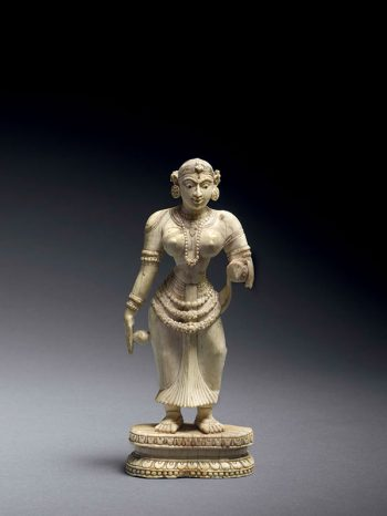 Ivory standing female