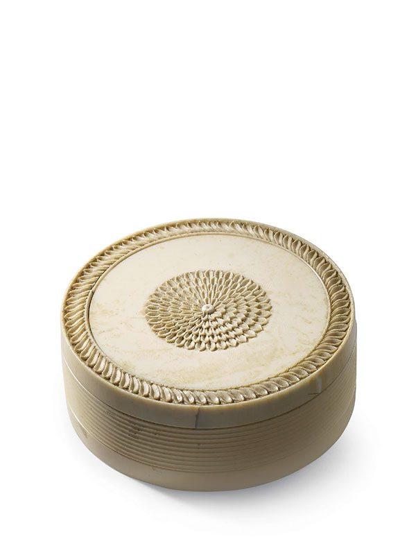 Ivory oval box