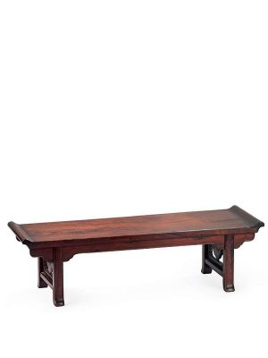 Miniature <em>huanghuali</em> table