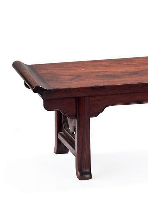 Miniature huanghuali table