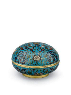 <em>Cloisonné</em> enamel box