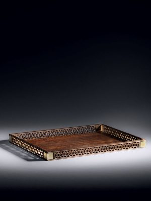 <em>Zitan</em> stationery tray