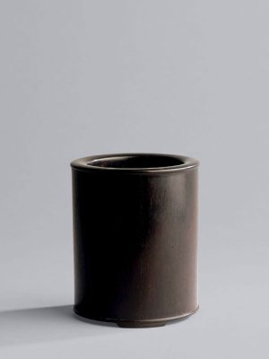 <em>Zitan</em> brush pot