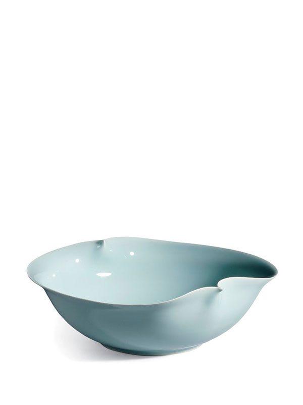 Porcelain Bowl By Kawase Shinobu (1950 -)