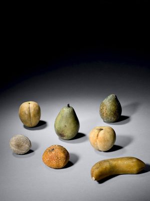 Set Of Stone Fruits