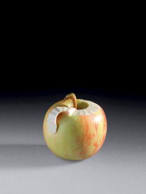 Ivory Kimono of an Apple