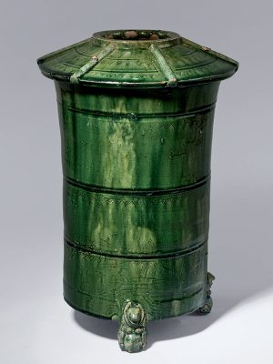 Pottery granary jar