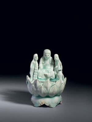 Qingbai porcelain Buddhist group