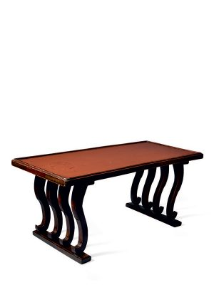 <em>Negoro</em> lacquer low table