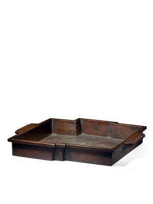 Bronze basin, by Nakajima Yasumi II (1905-1986)