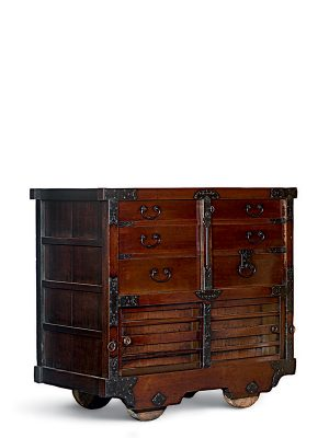Wheeled ledger cabinet, <em>cho-­todana</em>