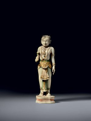 Ivory standing figure
