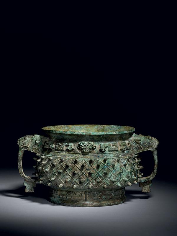 Bronze ritual food vessel, Gui