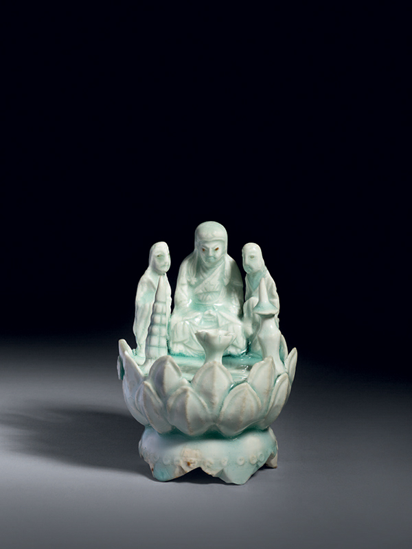 Qingbai porcelain Buddhist group