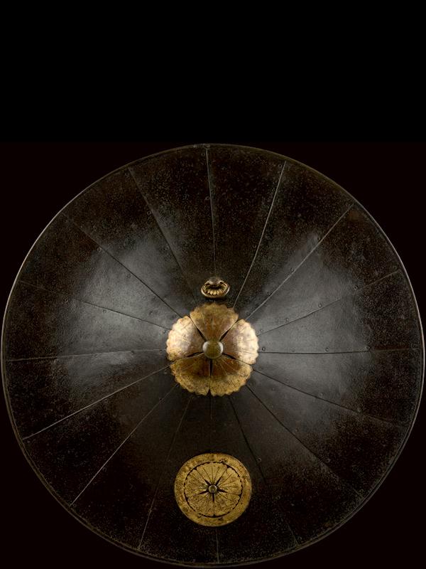 Iron jingasa (Samurai hat)