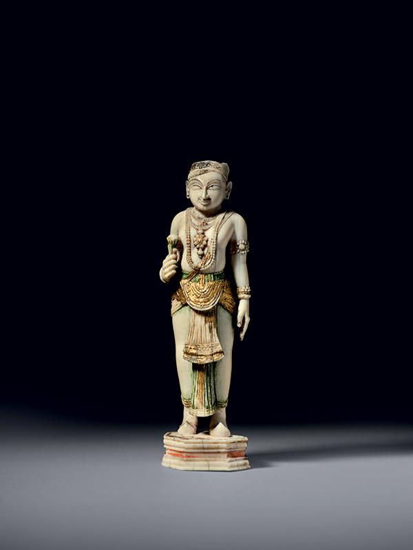 Ivory standing figure