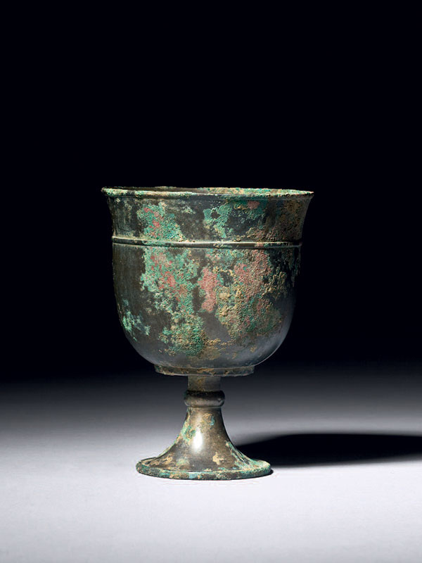 Bronze stem cup