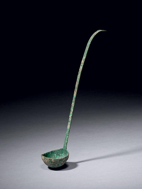 Bronze ladle