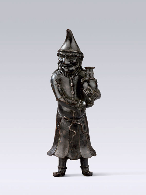 Bronze figure of a foreigner