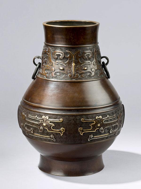 Bronze vessel, <em>hu</em>