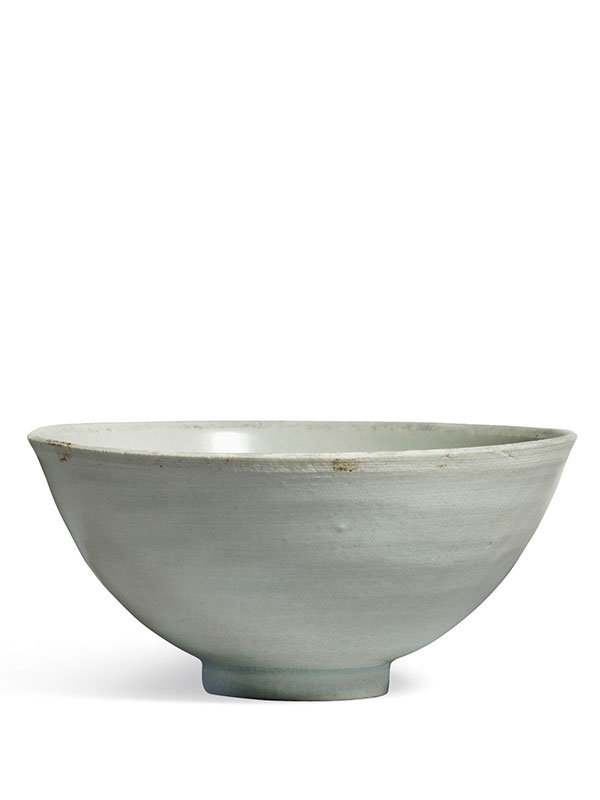Qingbai porcelain bowl with wild geese