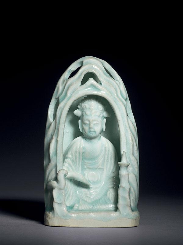 <em>Qingbai</em> porcelain Bodhisattva Guanyin