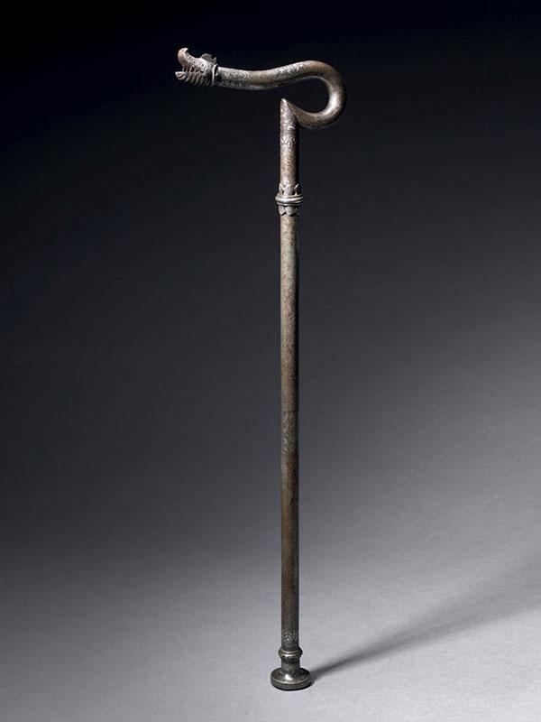 Steel dervish crutch (<em>Zadar Takiyah</em>)