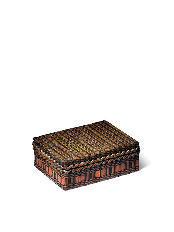 Copper Box Imitating Bamboo