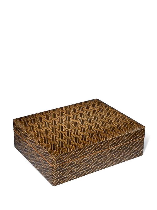 Wood Inlaid Box