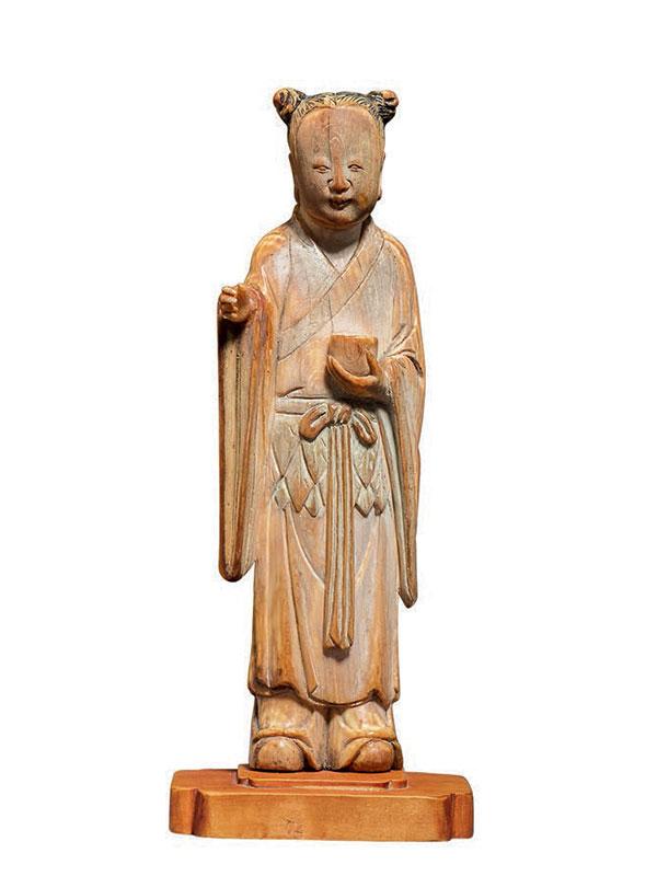 Ivory figure of a Daoist Immortal