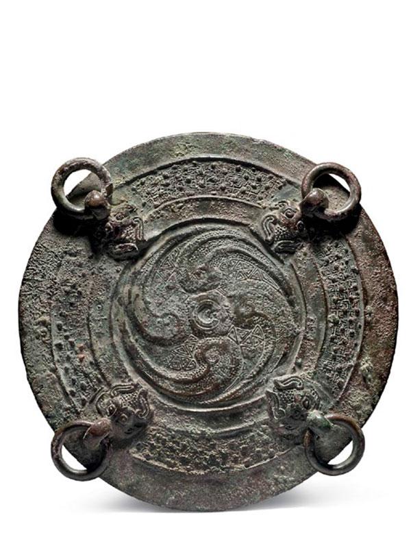 Bronze ritual vessel hu