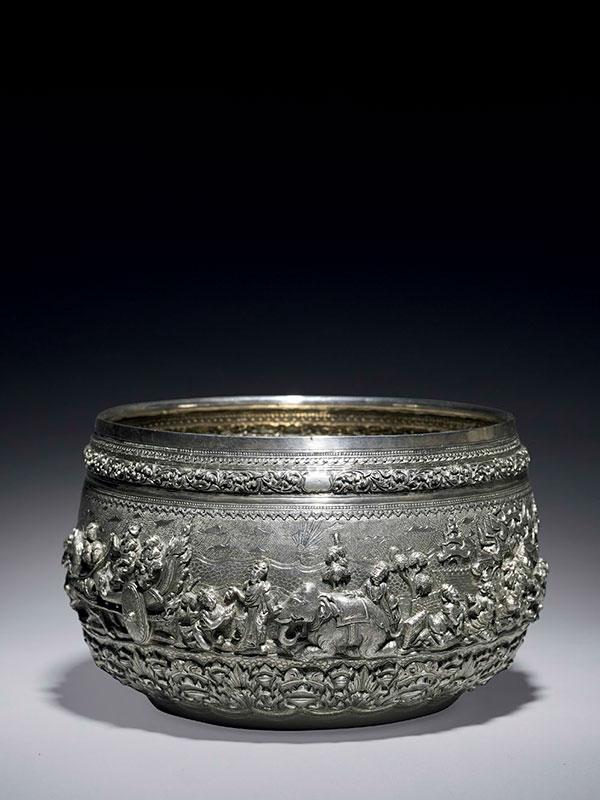 Silver bowl (thabeik)